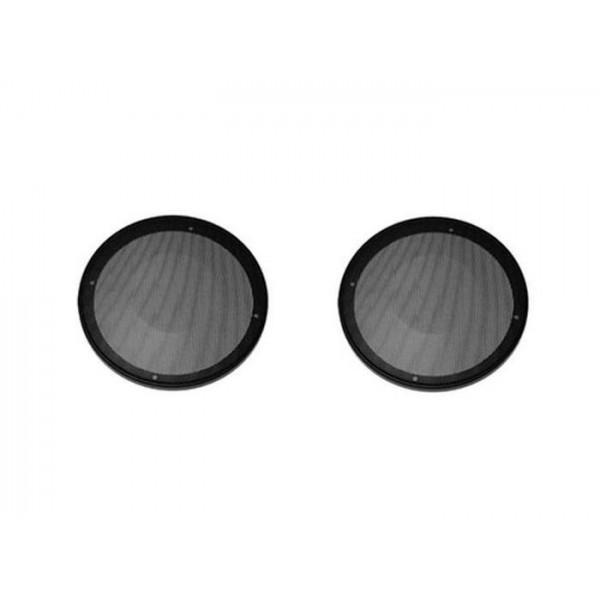 grille haut parleur universelle d200 ronde metal auto prestige tuning. Black Bedroom Furniture Sets. Home Design Ideas