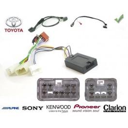 COMMANDE VOLANT TOYOTA YARIS 10/2011- - Pour SONY complet avec interface specifique