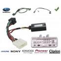 COMMANDE VOLANT Subaru Impreza 2010- avec touches de telephone - Pour Pioneer complet avec interface specifique