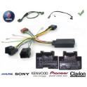 COMMANDE VOLANT SAAB 9.3 09/2006- - Pour Pioneer complet avec interface specifique