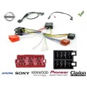 COMMANDE VOLANT Nissan NV200 - Pour SONY complet avec interface specifique