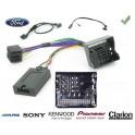 COMMANDE VOLANT Ford C-Max - Pour Pioneer complet avec interface specifique