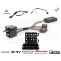 COMMANDE VOLANT CITROEN C-ZERO 2011- - Pour Pioneer complet avec interface specifique
