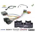 COMMANDE VOLANT Chevrolet Epica 2006- VCDI - Pour Pioneer complet avec interface specifique