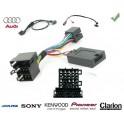 COMMANDE VOLANT Audi A4 1.9 - 2.5 TDI 2001- 2007 - Pour SONY complet avec interface specifique