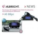 CB AE 6890 multicanaux façade détachable multinormes AM/FM