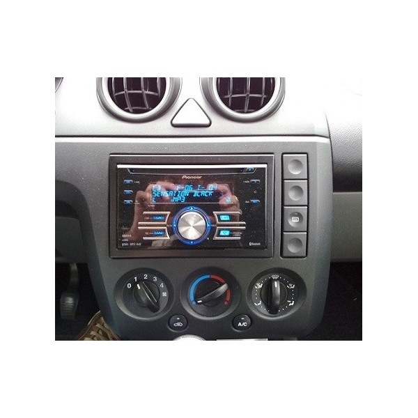facade autoradio double din ford fiesta 2002 2005 auto. Black Bedroom Furniture Sets. Home Design Ideas