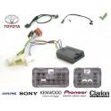 COMMANDE VOLANT Toyota Prius 2011- - Pour Pioneer complet avec interface specifique
