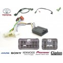 COMMANDE VOLANT Toyota Aygo MMT 2006-2007 - Pour Pioneer complet avec interface specifique