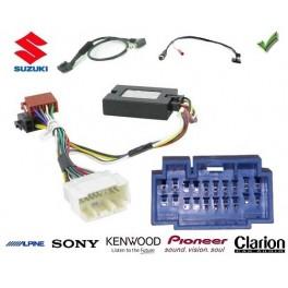 COMMANDE VOLANT Suzuki VITARA 2011- - Pour SONY complet avec interface specifique
