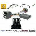 COMMANDE VOLANT Renault Kangoo 2000-2005 AVEC ECRAN ISO - Pour SONY complet avec interface specifique
