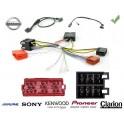 COMMANDE VOLANT Nissan QashQai 2007- SANS NAVIGATION - Pour Pioneer complet avec interface specifique