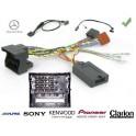 COMMANDE VOLANT Mercedes Citan 2012- - Pour SONY complet avec interface specifique