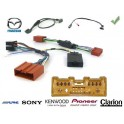 COMMANDE VOLANT Mazda 3 2009- AVEC AMPLI - Pour SONY complet avec interface specifique