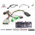 COMMANDE VOLANT Honda Jazz 2002-2008 - Pour SONY complet avec interface specifique