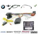 COMMANDE VOLANT BMW SERIE 3 2008-2012 (E90-E91) - Pour SONY complet avec interface specifique
