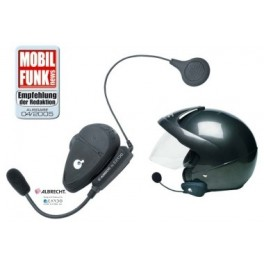 ALBRECHT-RIDER Systeme Audio BLUETOOTH pour casque moto / GSM ou Talkies-Walkies