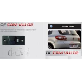 CAMERA DE RECUL INTEGREE DANS ECLAIRAGE PLAQUE VW TIGUAN