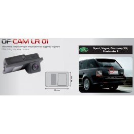 CAMERA DE RECUL INTEGREE DANS ECLAIRAGE PLAQUE LANDROVER FREELANDER 2