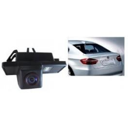 CAMERA DE RECUL INTEGREE DANS ECLAIRAGE PLAQUE BMW SERIE X6