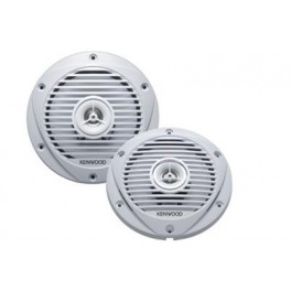 KENWOOD KFC-1652MRW 17cm 2-way Flush Mount Marine Speaker Syste